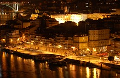 Porto at night photo by anacm.silva
