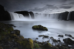...how I love the green green moss at Godafoss photo by Andri Elfarsson