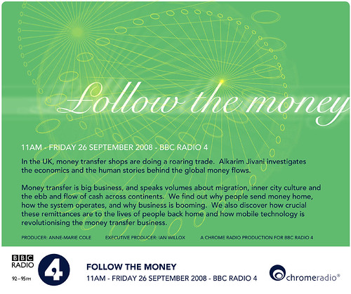 Follow the money on BBC Radio 4