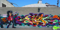 Rime Paints a version of an Askew sketch photo by Joe Ism