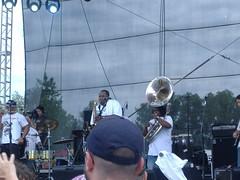 nice sax and tuba
