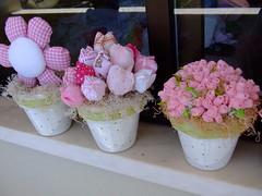Decoração infantil,Flores em tecidos!! photo by Irene Sarranheira