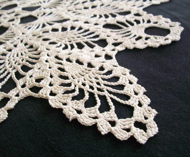 Pineapple Crochet Doily Patterns Crochet For Beginners