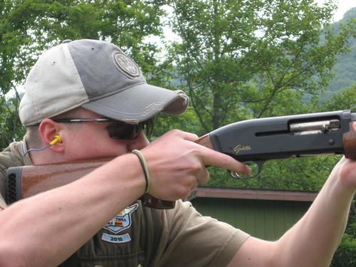 767c5f3543d Hunter Hammond wearing Rudy Project glasses - Smokey Mt. Gun Club 5-14-