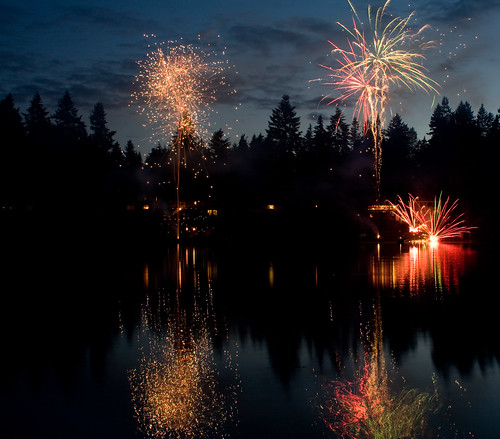 cottage lake fireworks