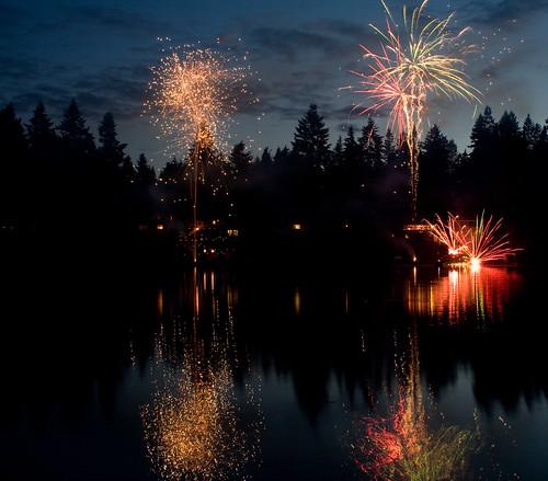 cottage lake fireworks