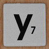 Word Game letter y