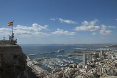 Blick auf Alicante