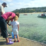 Checking out the crab's. St ives.<br/>25 Jul 2008