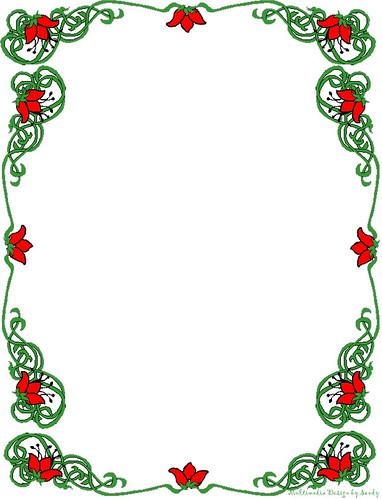 792hac: christmas clip art borders free