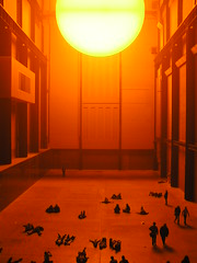 Olafur Eliasson: The Weather Project photo by Istvan