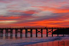 Gaviota Pier photo by Damian Gadal