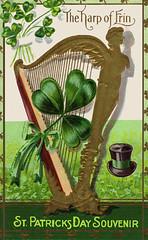 Vintage St. Patrick's Day postcards (6)