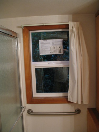 New Bathroom Window