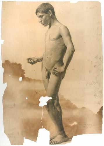 Nude Boy Artist Haskell