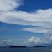 Sea, Islands, Clouds, Sky  (^-^)