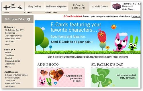 ecards free hallmark | Venus Wallpapers