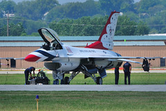 Thunderbird @ Airshow - Downtown Kansas City Airport