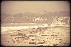Vintage beach photo by manganite