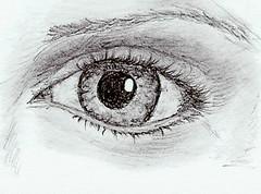 Shaded eye