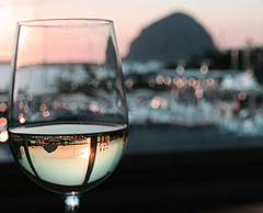 The Rock & The Wine at Sunset photo by Jill Clardy