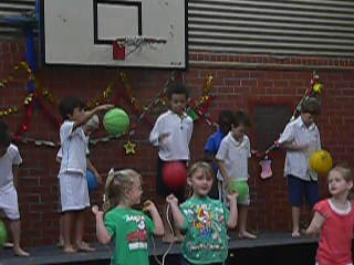 End of year school concert