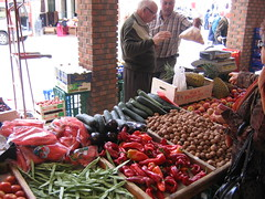 Green Grocer in the Market