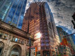 city sunrise photo by paul bica