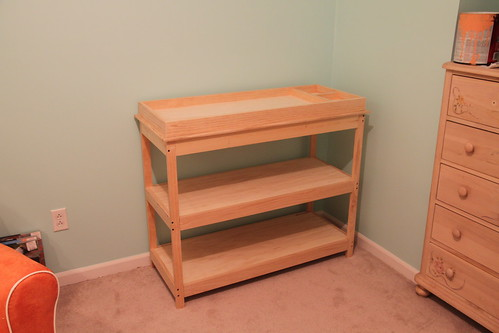 Diy Changing Table Anything Pretty