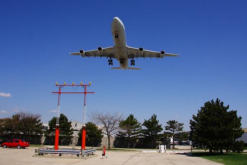 ontario canada tower plane