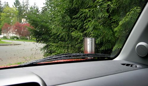 coffee mug near accident