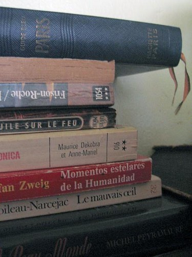 Various French books in my stash