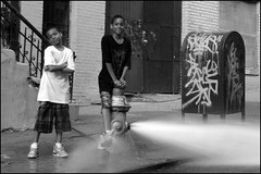 Cool Kids / Hot Harlem Hydrant photo by Tony Fischer Photography
