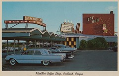 Waddle's Coffee Shop - Portland, Oregon photo by The Pie Shops Collection