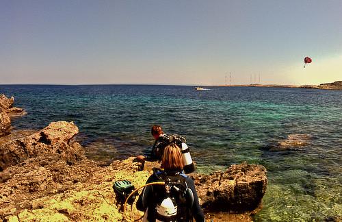 Diving at Cyclops