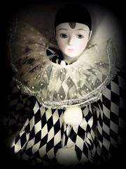 Vintage Harlequin photo by scilit