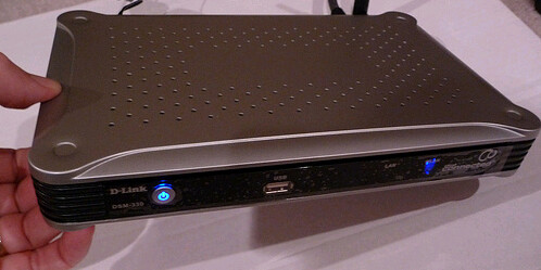 D-Link DSM-330 Divx Connected HD Media Player