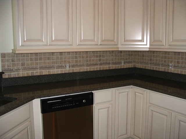 faux brick tile backsplash submited images