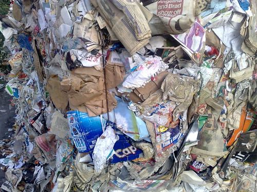 Recycled Paper Texture Shot