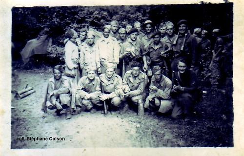 1944- Franche Comté Vosges- BM 5-  Col. Stéphane Colson