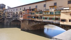 Ponte Veccio: view from water's edge