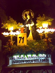 Virgen dela Soledad, Baliuag Holy Week Procession photo by Paul D Possum