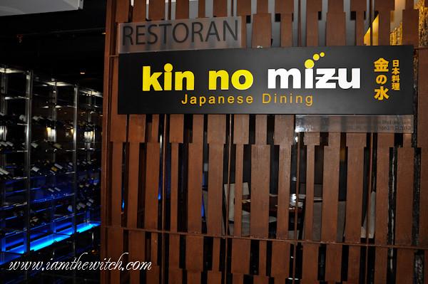 Kin No Mizu Japanese Dining Jalan Tun Razak