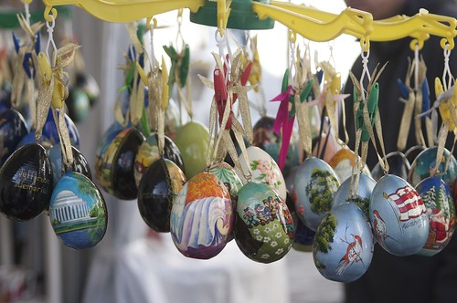 Russian Egg Christmas Ornaments