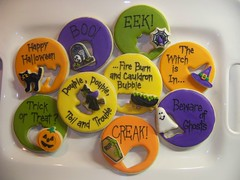 Halloween Cookie Cutouts and Sayings photo by Polka-dot Zebra