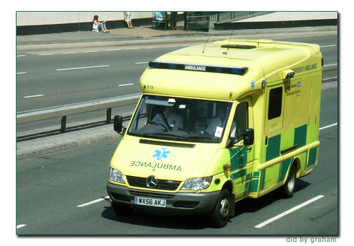 South Western Ambulance 619 WX56AKJ