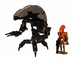 ULD with battle droid for comparison photo by lower_torso