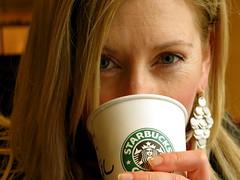 lucky Starbucks photo by Pierre Mallien