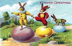 Whimsical Bunnies Postcard! photo by Lisa Kettell