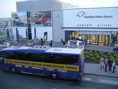 Frankfurt-Hahn + ônibus da Ryanair